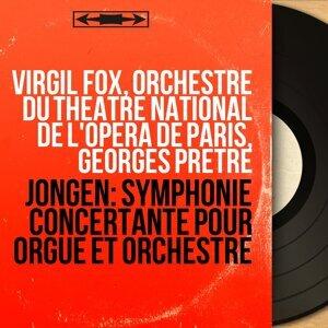 Virgil Fox, Orchestre du Théâtre national de l'Opéra de Paris, Georges Prêtre アーティスト写真