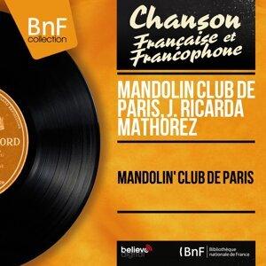 Mandolin Club de Paris, J. Ricarda Mathorez 歌手頭像