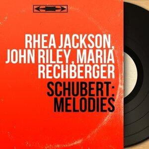 Rhea Jackson, John Riley, Maria Rechberger アーティスト写真