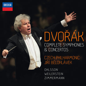 Czech Philharmonic,Jiri Belohlavek,Frank Peter Zimmermann,Alisa Weilerstein,Garrick Ohlsson アーティスト写真