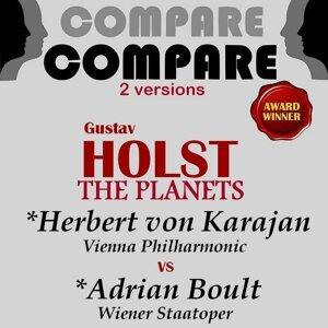 Herbert von Karajan, Adrian Boult アーティスト写真