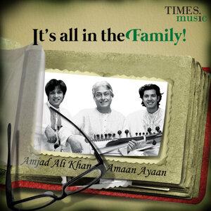 Amjad Ali Khan, Amaan Ali Khan & Ayaan Ali Khan アーティスト写真