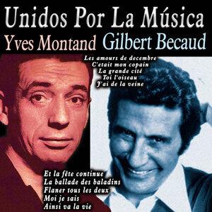 Yves Montand|Gilbert Becaud 歌手頭像