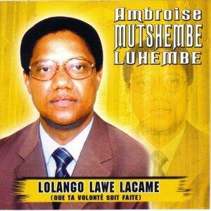 Ambroise Mutshembe Luhembe 歌手頭像