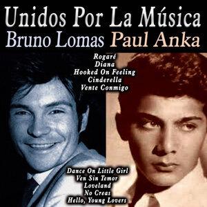 Bruno Lomas & Paul Anka アーティスト写真