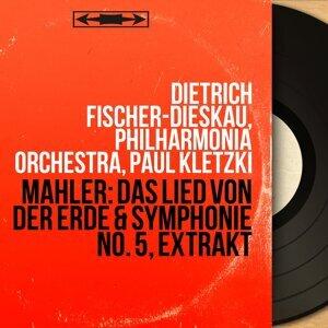 Dietrich Fischer-Dieskau, Philharmonia Orchestra, Paul Kletzki アーティスト写真
