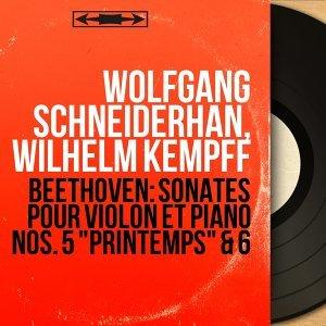 Wolfgang Schneiderhan, Wilhelm Kempff アーティスト写真
