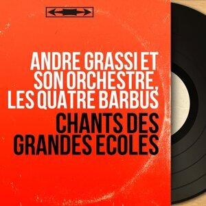 André Grassi et son orchestre, Les Quatre Barbus アーティスト写真