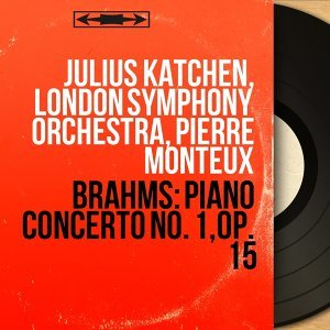 Julius Katchen, London Symphony Orchestra, Pierre Monteux アーティスト写真