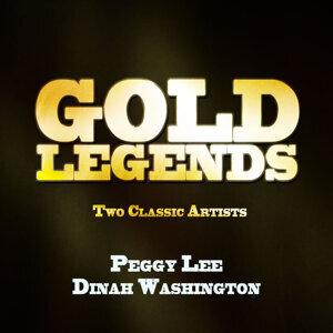 Dinah Washington|Peggy Lee アーティスト写真