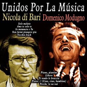 Nicola di Bari Domenico Modugno アーティスト写真