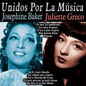 Josephine Baker|Juliette Greco アーティスト写真