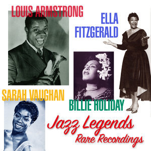 Louis Armstrong, Ella Fitzgerald, Sarah Vaughan & Billie Holiday アーティスト写真