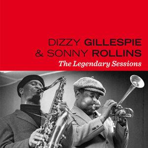Dizzy Gillespie Sonny Rollins アーティスト写真
