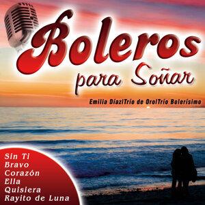 Emilia Díaz|Trío de Oro|Trío Bolerísimo アーティスト写真