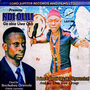 Prince Abuli Ayaka Ugwuoba 歌手頭像