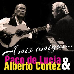 Paco de Lucía, Alberto Cortéz アーティスト写真
