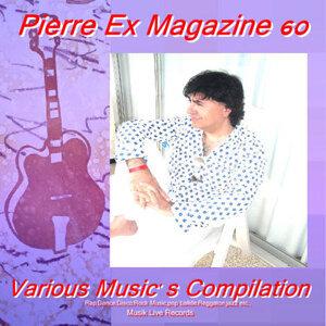Pierre Ex Magazine 60 歌手頭像