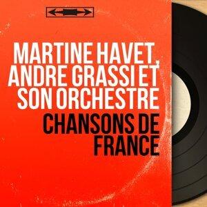Martine Havet, André Grassi et son orchestre アーティスト写真