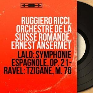 Ruggiero Ricci, Orchestre de la Suisse Romande, Ernest Ansermet アーティスト写真