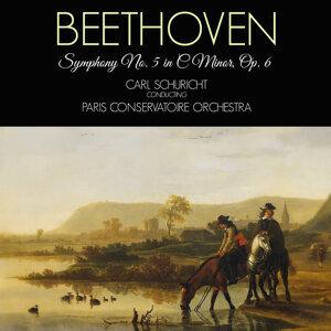 Carl Schuricht & Paris Conservatoire Orchestra アーティスト写真