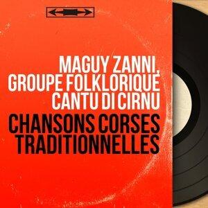 Maguy Zanni, Groupe folklorique Cantu di Cirnu アーティスト写真