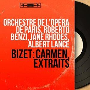Orchestre de l'Opéra de Paris, Roberto Benzi, Jane Rhodes, Albert Lance アーティスト写真
