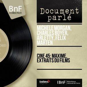 Michèle Morgan, Charles Boyer, Arletty, Félix Marten アーティスト写真