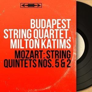 Budapest String Quartet, Milton Katims アーティスト写真