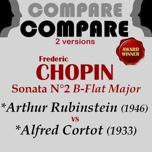 Arthur Rubinstein, Alfred Cortot 歌手頭像
