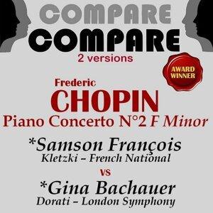 Samson François, Gina Bachauer 歌手頭像