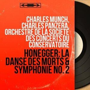 Charles Munch, Charles Panzéra, Orchestre de la Société des Concerts du Conservatoire アーティスト写真