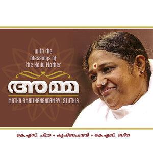 K. S. Chithra, K. S. Beena, Krishnachandran 歌手頭像