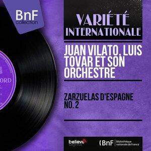 Juan Vilato, Luis Tovar et son orchestre アーティスト写真