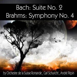 Orchestre de la Suisse Romande, Carl Schuricht, André Pèpin アーティスト写真