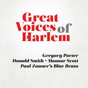 Gregory Porter, Paul Zauner´s Blue Brass, Donald Smith, Mansur Scott アーティスト写真