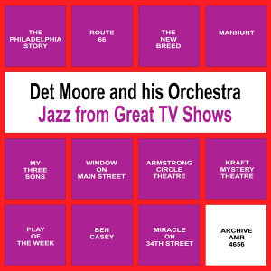 Det Moor and His Orchestra & Spencer Ross アーティスト写真