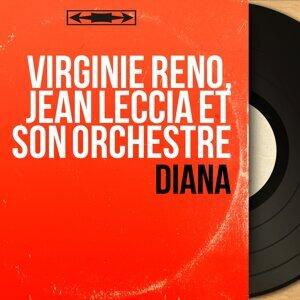 Virginie Réno, Jean Leccia et son orchestre アーティスト写真