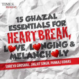 Shreya Ghoshal, Jagjit Singh, Pankaj Udhas アーティスト写真