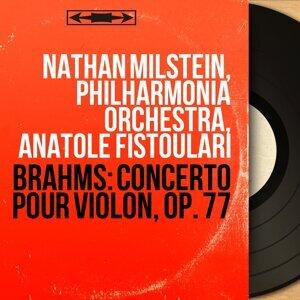 Nathan Milstein, Philharmonia Orchestra, Anatole Fistoulari アーティスト写真