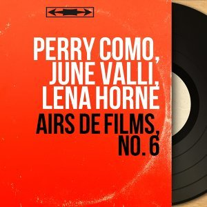 Perry Como, June Valli, Lena Horne 歌手頭像