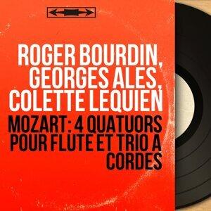 Roger Bourdin, Georges Alès, Colette Lequien 歌手頭像