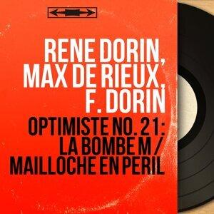 René Dorin, Max de Rieux, F. Dorin 歌手頭像
