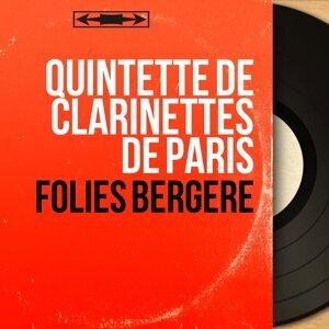 Quintette de clarinettes de Paris アーティスト写真