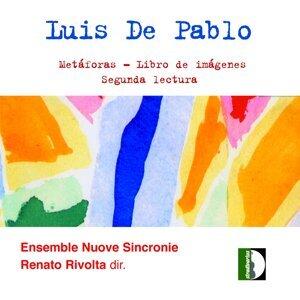 Ensemble Nuove Sincronie, Renato Rivolta, Marcello Parolini アーティスト写真