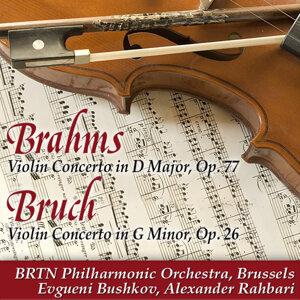 Evgueni Bushkov, BRTN Philharmonic Orchestra, Brussels, and Alexander Rahbari アーティスト写真