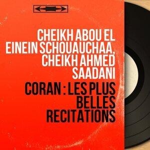 Cheikh Abou El Einein Schouauchaa, Cheikh Ahmed Saadani 歌手頭像