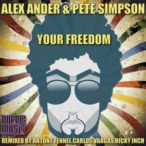 Alex Ander, Pete Simpson