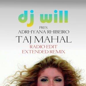 Adrhyana Rhibeiro, DJ Will アーティスト写真