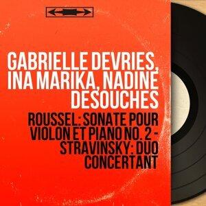 Gabrielle Devries, Ina Marika, Nadine Desouches 歌手頭像
